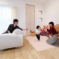 名古屋市緑区作の山町の安心して暮らせる木造デザイン住宅なら愛知県名古屋市緑区のハウスメーカークレバリーホームまで♪大高店