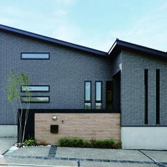 立川市羽衣町の北欧な外観の家でステキな玄関のあるお家は、クレバリーホーム 立川店まで!