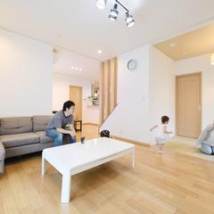 ★★で地震に強い自由設計のデザイン注文住宅を建てる。