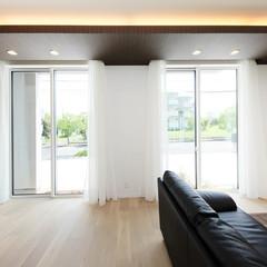 東京都練馬区大泉町のシンプルモダンな家で事務所兼自宅のあるお家は、クレバリーホーム練馬中央店まで!